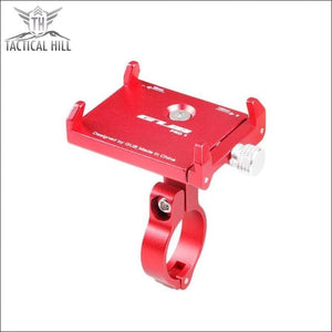 Rotatable Phone Holder Mount - Red