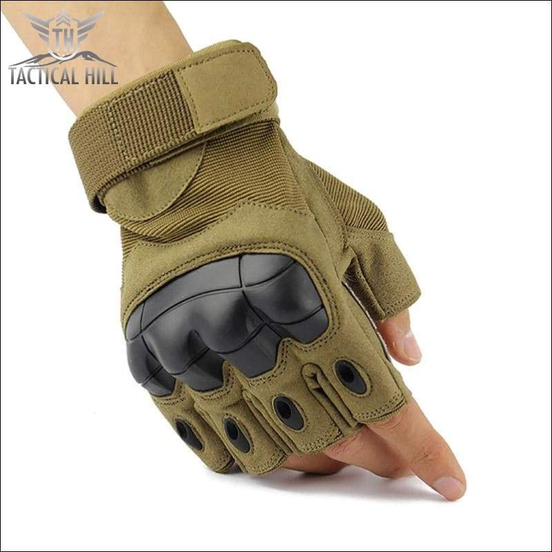 TACTICAL SPORT GLOVES - Desert Kaki Glove
