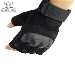 TACTICAL SPORT GLOVES - Police Black