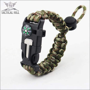 Tactical Survival Bracelet-Army-Camouflage