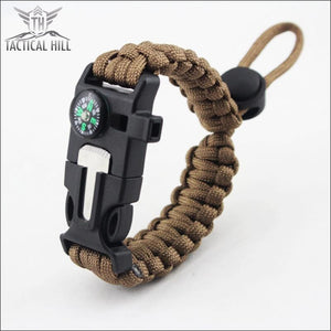 Tactical Survival Bracelet - Sand