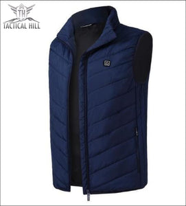Tactical Usb Heated Vest - Blue / S - Winter Apparel