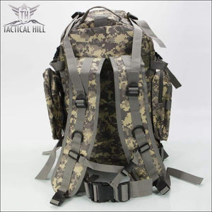 Tacticl Military Backpack 55L Marpat back