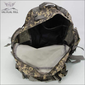 Tacticl Military Backpack 55L Marpat interior