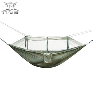 Treehouse Mosquito Net Hammock - Army Green