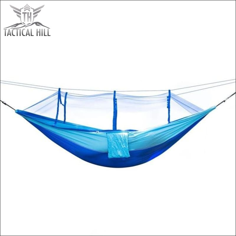 Treehouse Mosquito Net Hammock - Blue