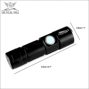 Usb Rechargeable Led Flashlight - Flashlight