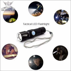 Usb Rechargeable Magnetic Led Flashlight - Flashlight