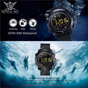 Waterproof Led Backlight Sportssmartwatch - Watch