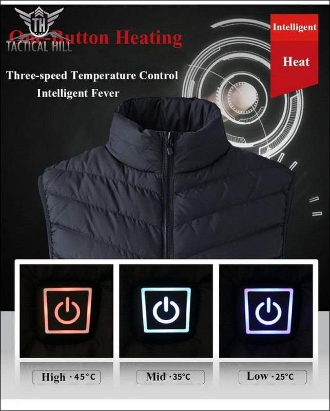 Winter Apparel - Tactical USB Heated Vest
