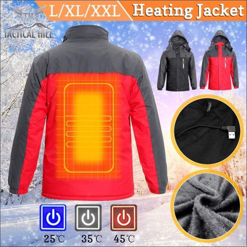 Winter Apparel - USB Heated Thermal Jacket