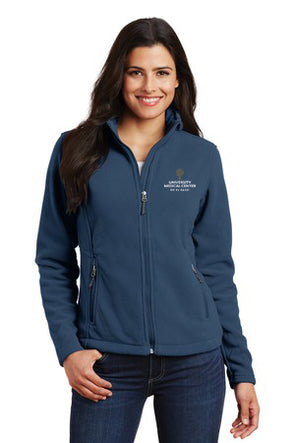 Women's Fleece Jacket w/UMC Logo - Insignia Blue