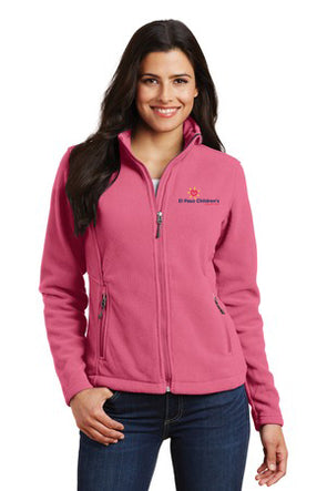 Women's Fleece Jacket w/EPCH Logo - Pink Blossom