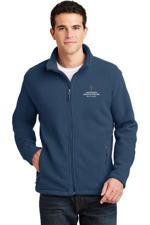 Men's Fleece Jacket w/UMC Logo - Insignia Blue