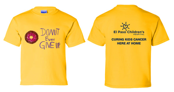 "Youth ""Donut Ever Give Up"" T-Shirt"