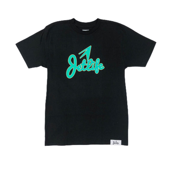 "Jet Life ""STACKED"" S/S [BLACK]"