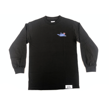 "Load image into Gallery viewer, Jet Life ""GRAND PRIX"" [BLACK] L/S TEE"