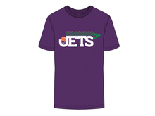 "Load image into Gallery viewer, JL ""NEW JET CITY"" S/S TEE [PURPLE]"