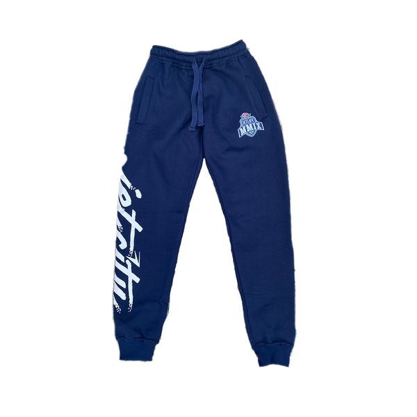 "Jet Life ""JET CITY"" Sweatpants [NAVY]"