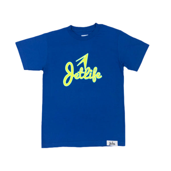 "Jet Life ""STACKED"" S/S [ROYAL]"