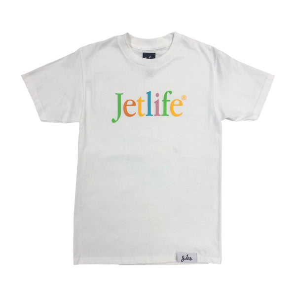 "Jet Life ""Born to Mac"" S/S [WHITE]"
