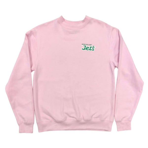 "JET LIFE ""NEVER DIE"" SWEATER [PINK]"