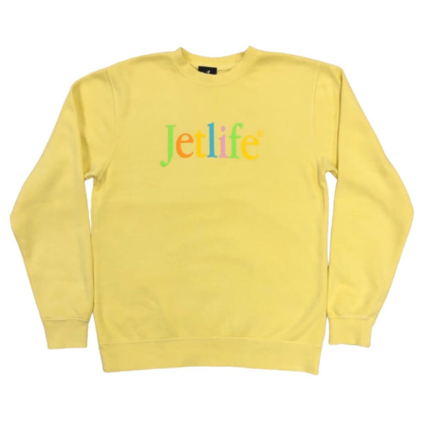 "JET LIFE ""BORN TO MAC"" SWEATER [SQUASH]"
