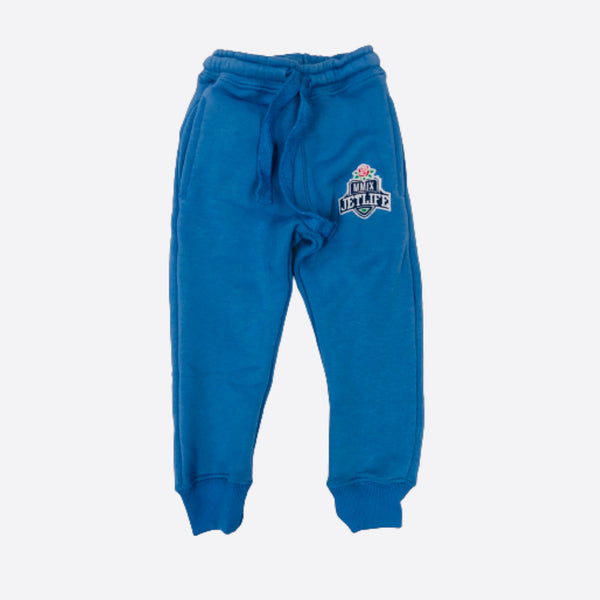"JET LIFE KIDS ""MMIX"" SWEATPANTS [BLUE]"