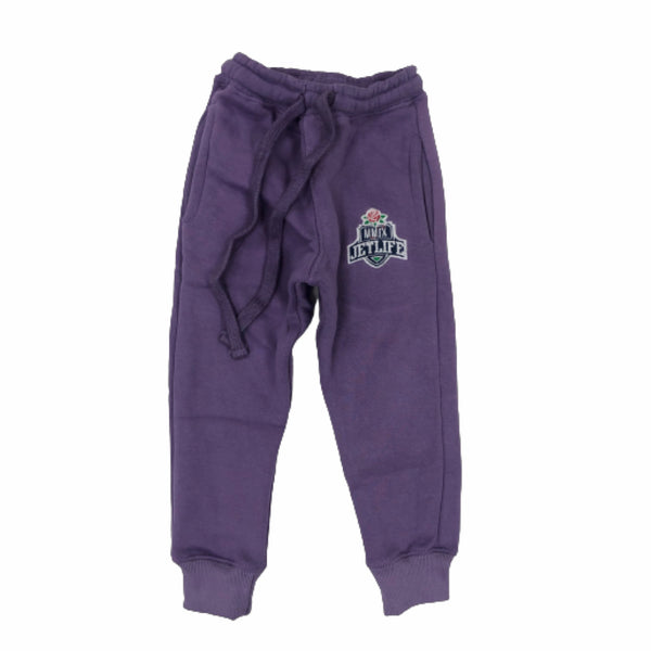 "JET LIFE KIDS ""MMIX"" SWEATPANTS [PURPLE]"