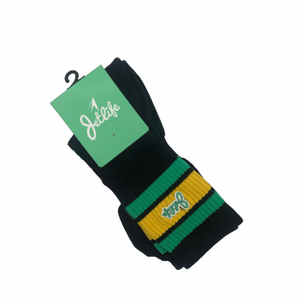 JET LIFE SOCKS [BLACK]
