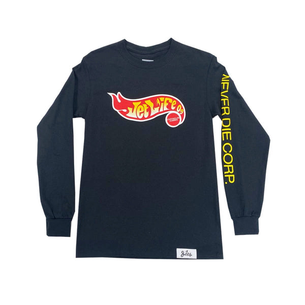 JET LIFE X STARTING LINE HOBBIES L/S [BLACK]