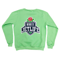"JET LIFE ""SPRING CLEAN V3"" SWEATER [GREEN]"