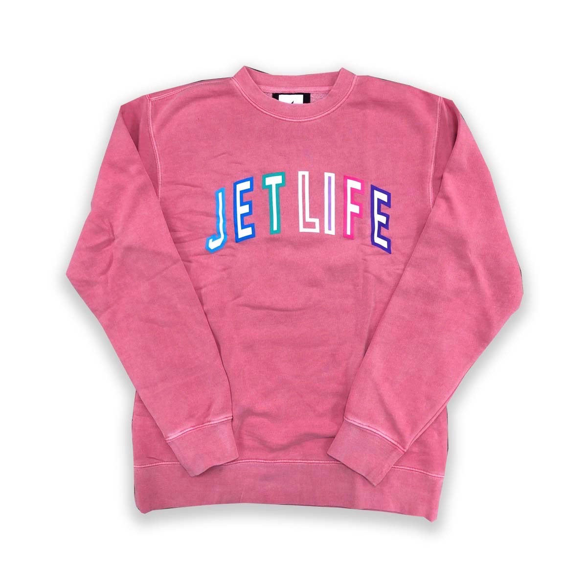 JET LIFE COLLEGE SWEATER [PINK]