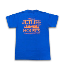 "Load image into Gallery viewer, Jet Life ""HOUSES"" [ROYAL] S/S TEE"