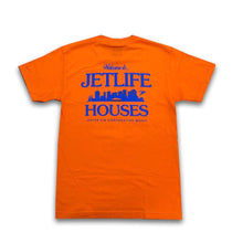 "Load image into Gallery viewer, Jet Life ""HOUSES"" [ORANGE] S/S TEE"