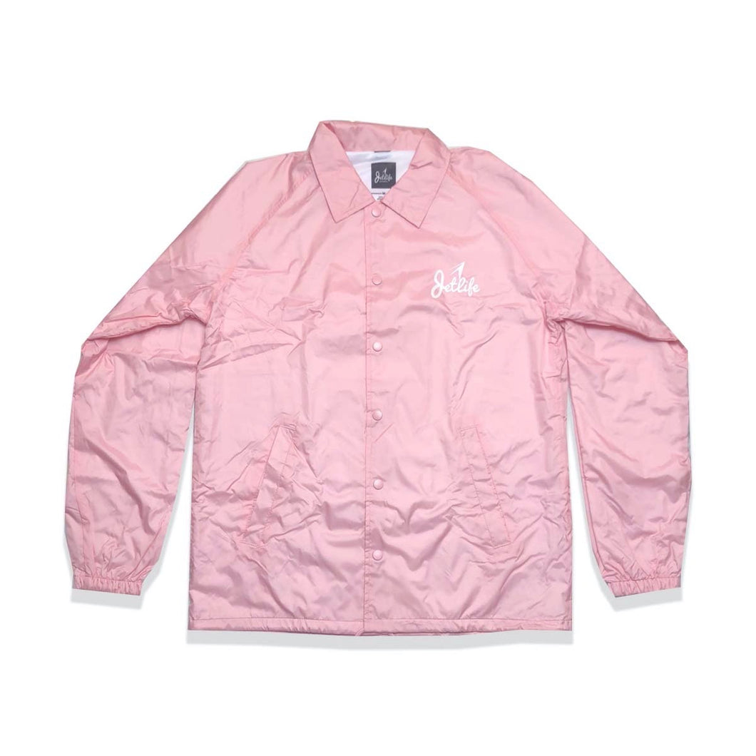 JL GLOBAL COACH JACKET [PINK]