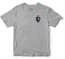 "Load image into Gallery viewer, JL ""THE CREST"" S/S TEE [GREY]"