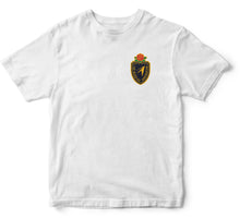 "Load image into Gallery viewer, JL ""THE CREST"" S/S TEE [WHITE]"