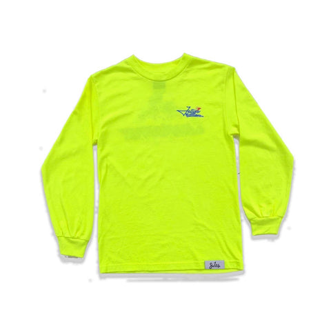 "Jet Life ""GRAND PRIX"" [SAFETY GREEN] L/S TEE"