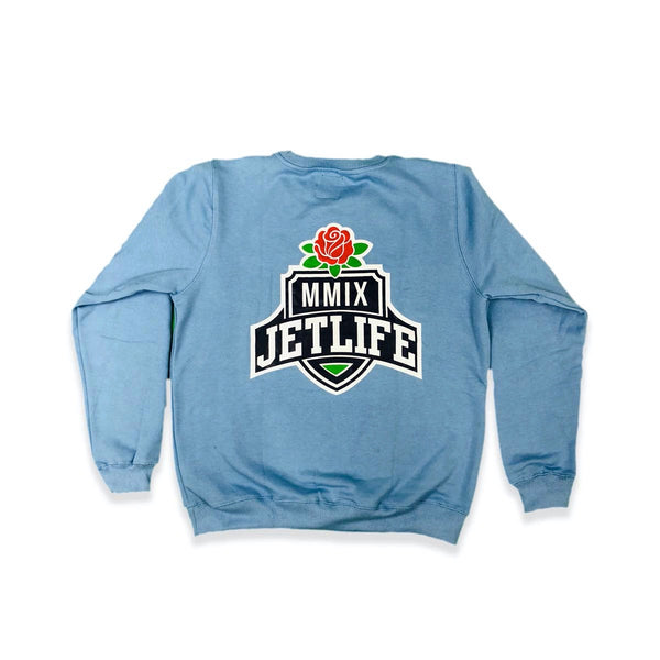 "JET LIFE ""SPRING CLEAN V2"" SWEATER [BLUE]"