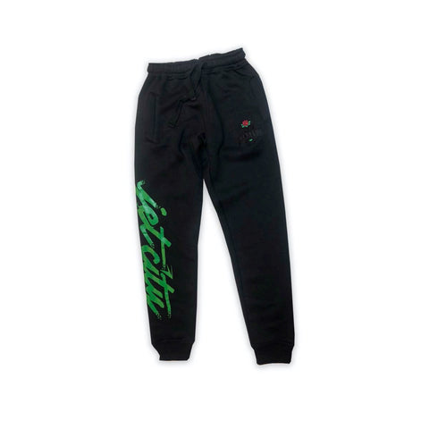 "Jet Life ""JET CITY"" Sweatpants [BLACK]"