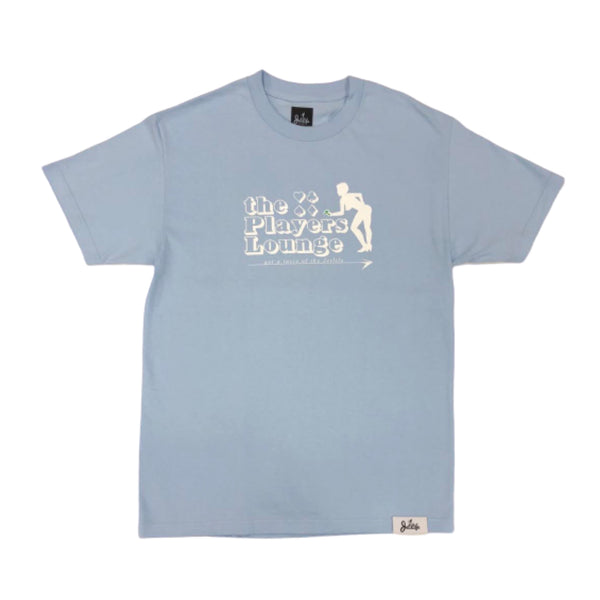 "Jet Life ""Player's Lounge"" S/S [BABY BLUE]"