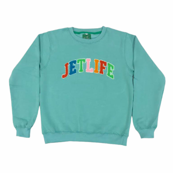 "JET LIFE ""CAPITAL"" SWEATER [TIFFANY]"