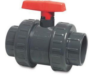 Ball Valves (Double Union) Red Handle