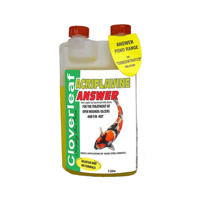 Cloverleaf Acriflavine Answer