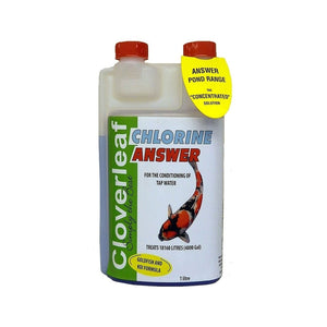 Cloverleaf Chlorine Answer
