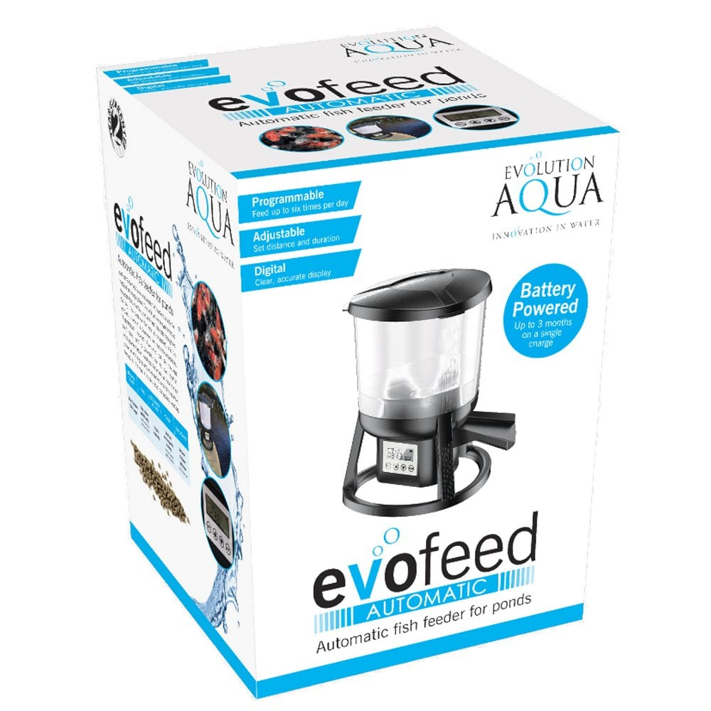 Evolution Aqua evoFeed Automatic Fish Feeder