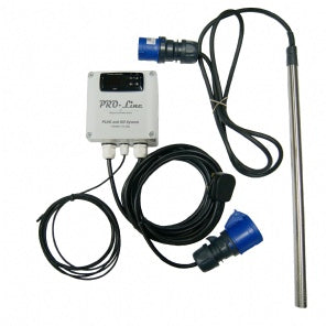 Pro line Stainless Steel Aquatic Pond Heater with Pro Line Digital Stat 2kw
