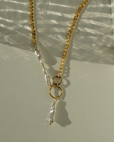 Zanlyah Necklace Gold