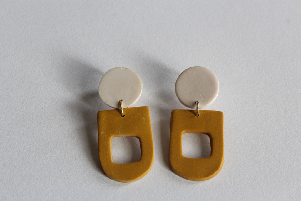Tabatha Earrings // Yellow Daze